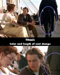 21 Titanic Movie Mistakes You May Have Missed (21 photos) 10