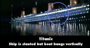 21 Titanic Movie Mistakes You May Have Missed (21 photos) 13