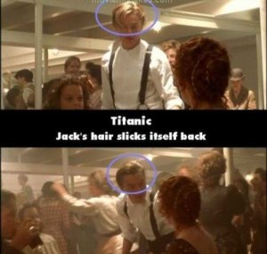 21 Titanic Movie Mistakes You May Have Missed (21 photos) 16