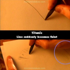 21 Titanic Movie Mistakes You May Have Missed (21 photos) 4