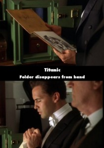 21 Titanic Movie Mistakes You May Have Missed (21 photos) 8