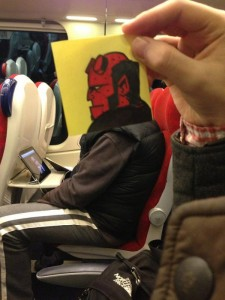 How to Pass Time on the Train (15 photos) 11