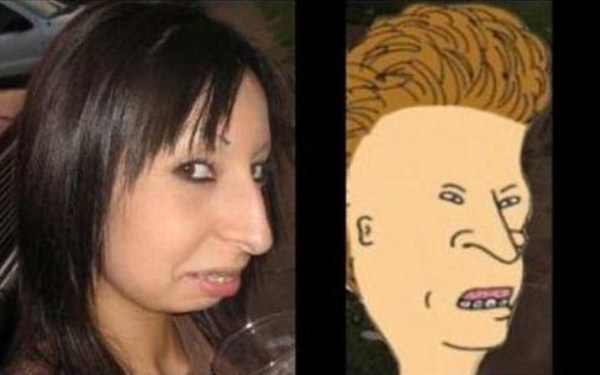 Real Life Doppelgangers of Cartoon Characters (28 photos) 10