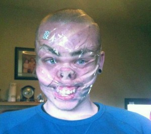 Sellotape Selfies Are the Latest Internet Trend (35 photos) 34