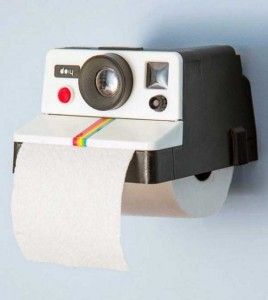 Unconventional Toilet Paper Holders (37 photos) 17
