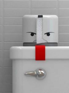 Unconventional Toilet Paper Holders (37 photos) 23