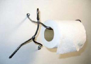 Unconventional Toilet Paper Holders (37 photos) 3