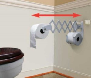 Unconventional Toilet Paper Holders (37 photos) 31