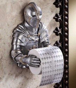 Unconventional Toilet Paper Holders (37 photos) 34