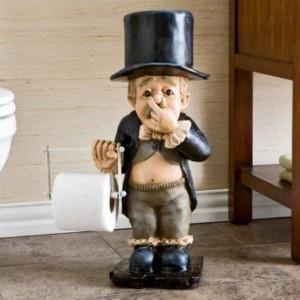 Unconventional Toilet Paper Holders (37 photos) 38