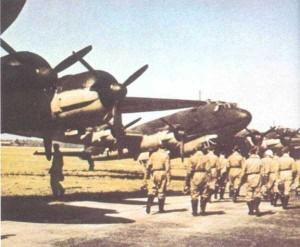 Rare Color Photos of the German Luftwaffe in WW2 (40 photos) 10