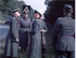 35 Extremely Rare Color Photos of the German Troops In WWII (35 photos) 6