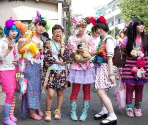 Unconventional Japanese Street Fashion Trends (39 photos) 1