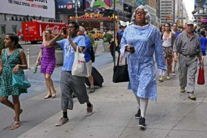 Strange People On The Streets Of New York (31 photos) 31