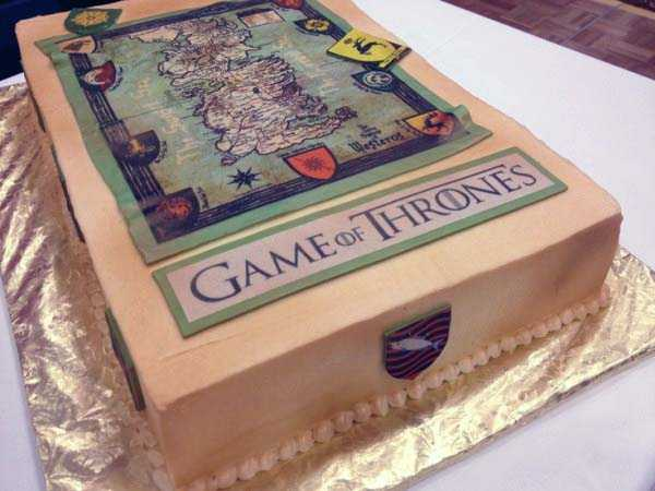 28 Mind-Blowing Game Of Thrones Cakes (28 photos) 24