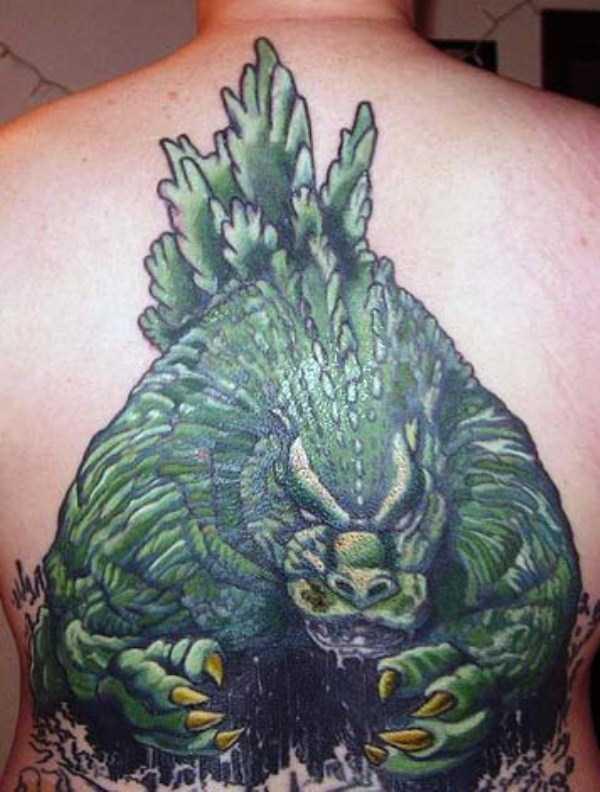 Tatuagens Godzilla (1)