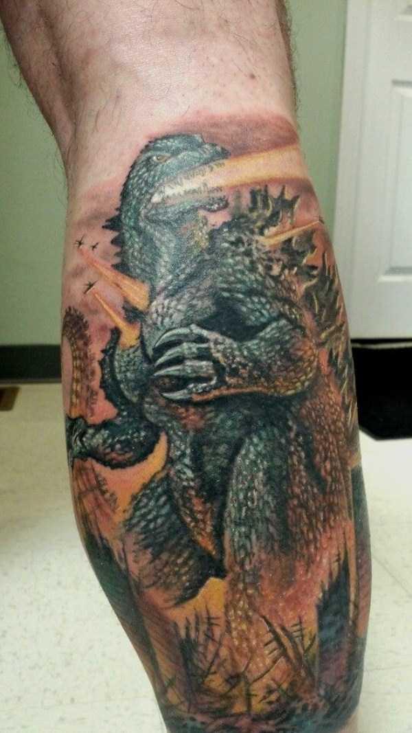 Godzilla-tattoos (10)