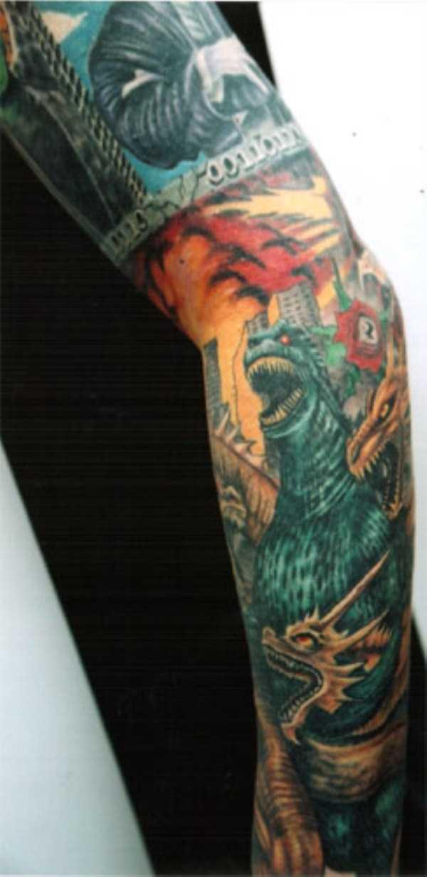 Godzilla-tattoos (12)