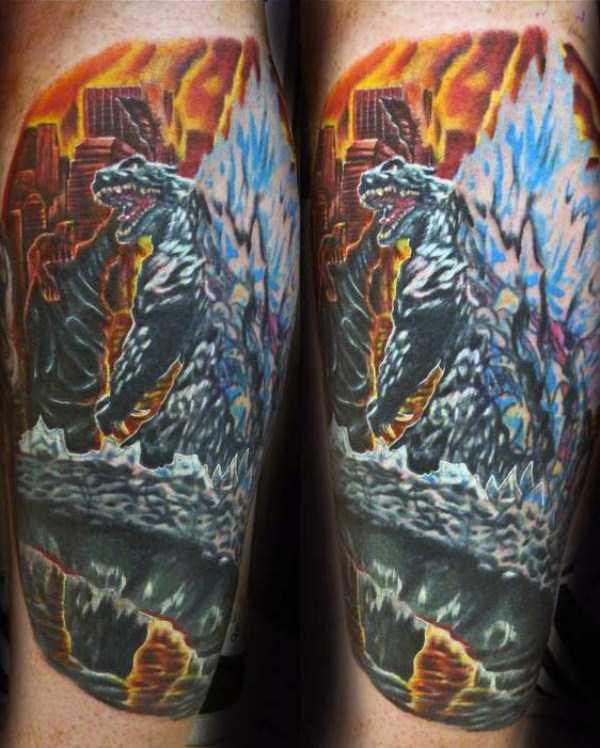 Godzilla-tattoos (15)