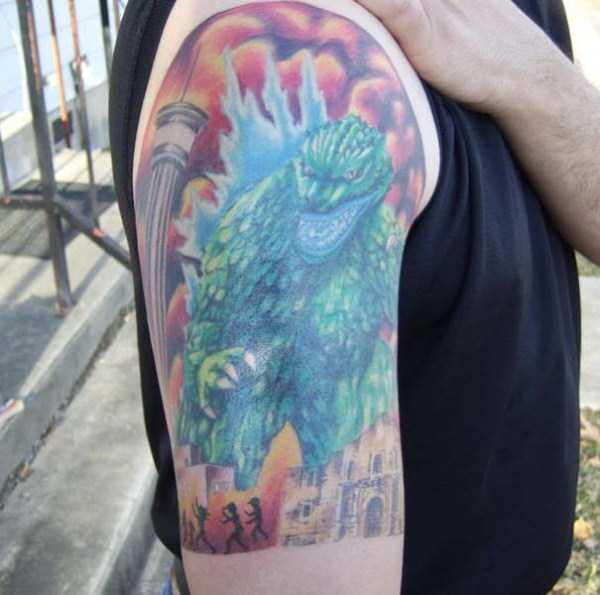 Godzilla-tattoos (18)