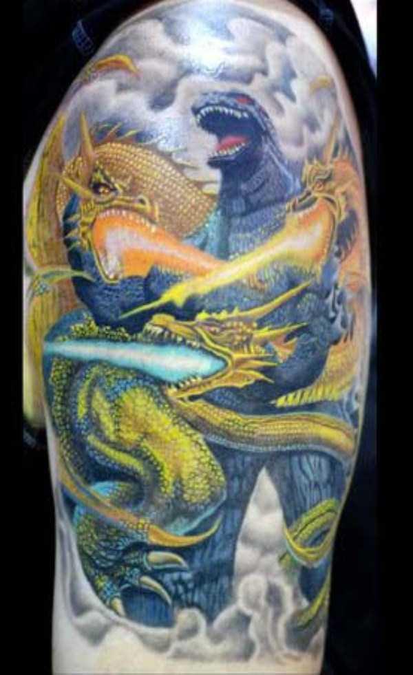 Tatuagens Godzilla (2)