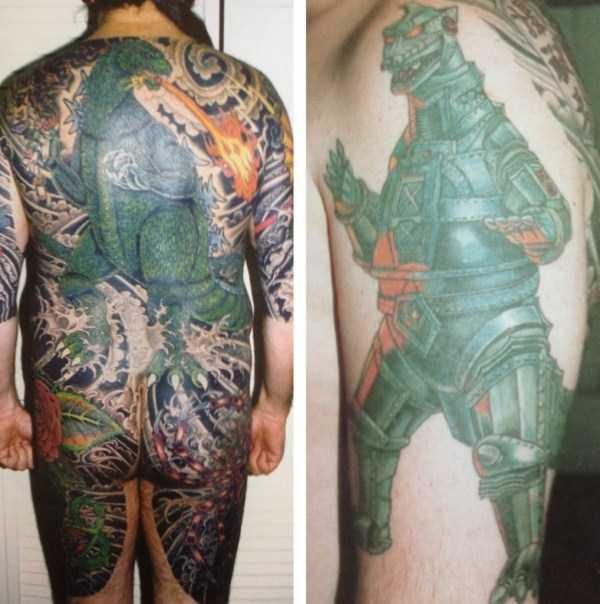 Godzilla-tattoos (21)
