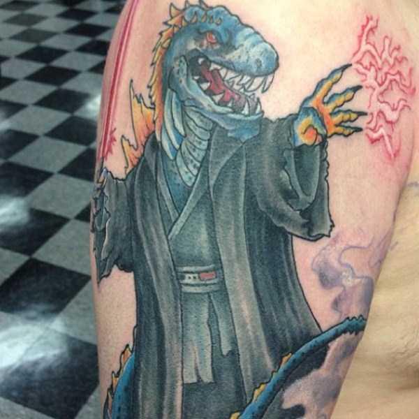 Godzilla-tattoos (23)