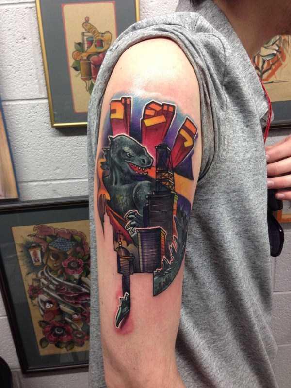 Godzilla-tattoos (24)