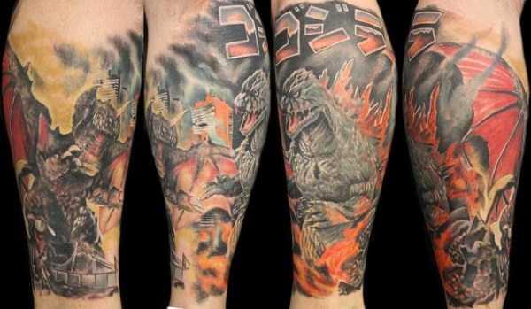 Godzilla-tattoos (26)