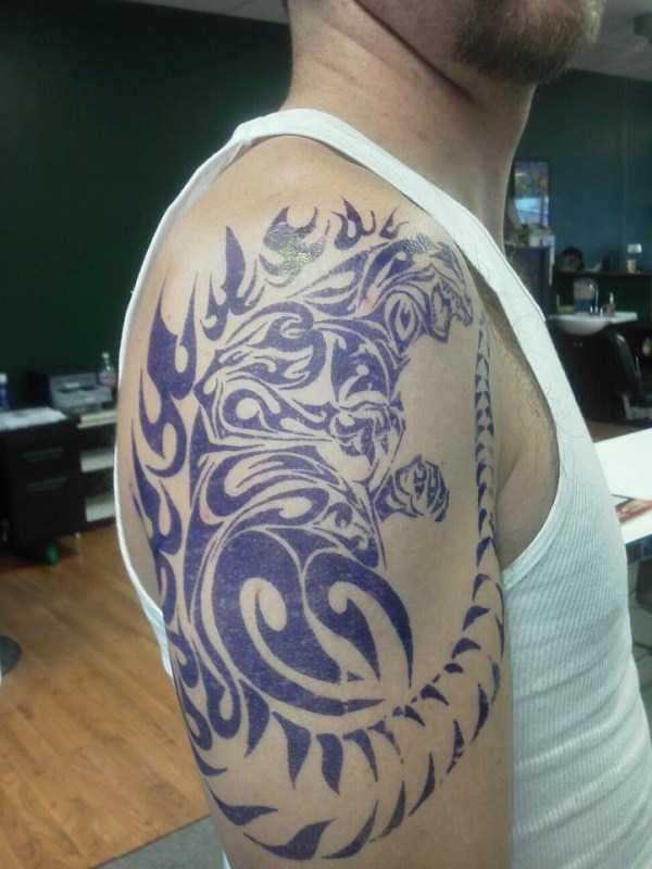 Godzilla-tattoos (30)
