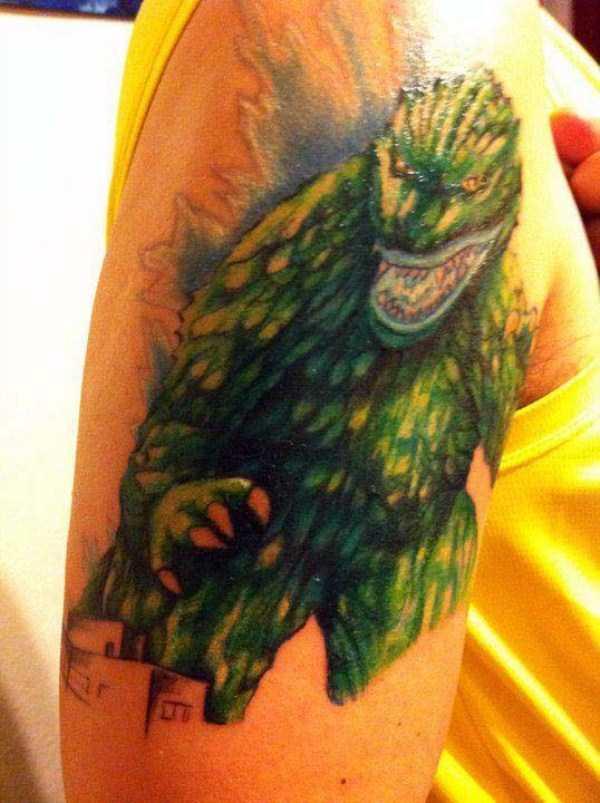 Tatuagens Godzilla (5)