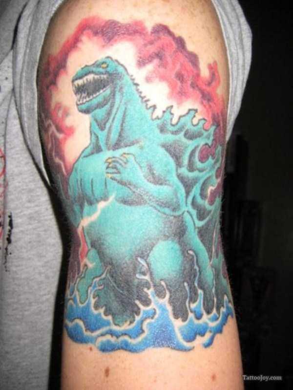 Godzilla-tattoos (6)