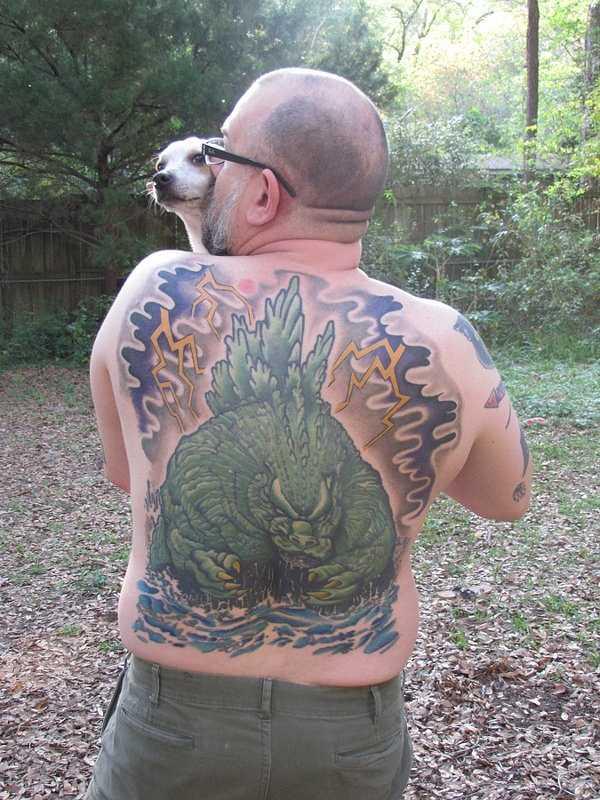 Godzilla-tattoos (8)