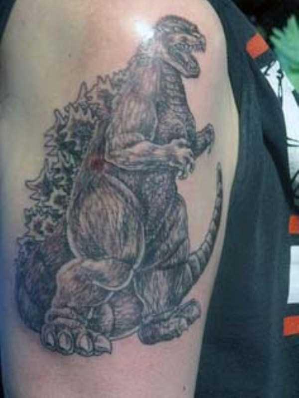 Godzilla-tattoos (9)