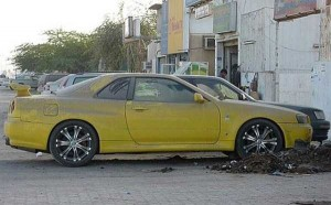 Abandoned And Forgotten Supercars In Dubai (27 photos) 11