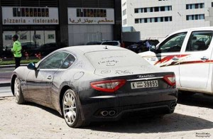 Abandoned And Forgotten Supercars In Dubai (27 photos) 12