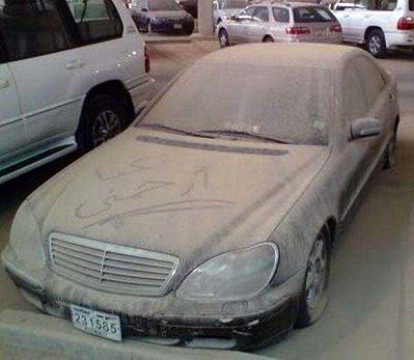 carros de luxo abandonados em dubai 21 abandonado e esquecido Supercars em Dubai (27 fotos)