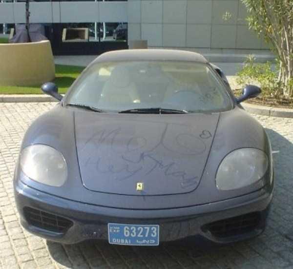 carros de luxo abandonados em dubai 23 abandonado e esquecido Supercars em Dubai (27 fotos)