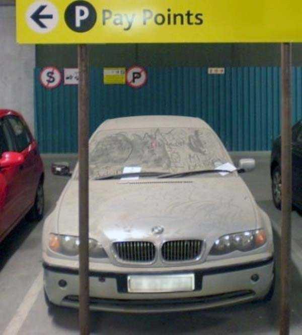 carros de luxo abandonados em dubai 26 abandonado e esquecido Supercars em Dubai (27 fotos)
