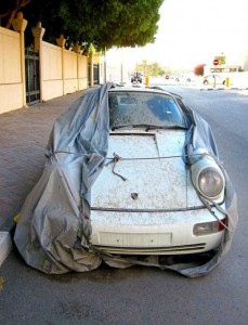 Abandoned And Forgotten Supercars In Dubai (27 photos) 5