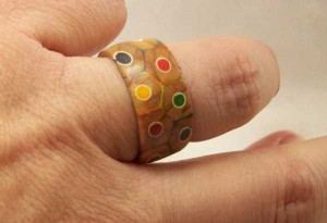 Awesome Ring Made Out of Colored Pencils (14 photos) 13