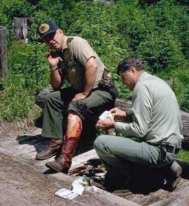 Forest Ranger Attacked by Grizzly Bear (9 photos) 9