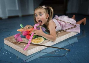 Creative Father Makes Cool Photo Manipulations With His Daughters (20 photos) 20