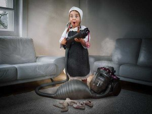 Creative Father Makes Cool Photo Manipulations With His Daughters (20 photos) 5