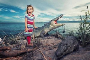 Creative Father Makes Cool Photo Manipulations With His Daughters (20 photos) 7