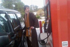 Strange People Seen at Gas Stations (25 photos) 12