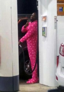 Strange People Seen at Gas Stations (25 photos) 16