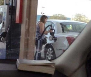 Strange People Seen at Gas Stations (25 photos) 21
