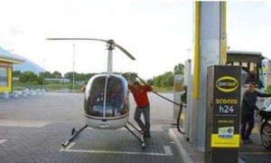 Strange People Seen at Gas Stations (25 photos) 24
