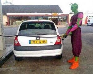 Strange People Seen at Gas Stations (25 photos) 3
